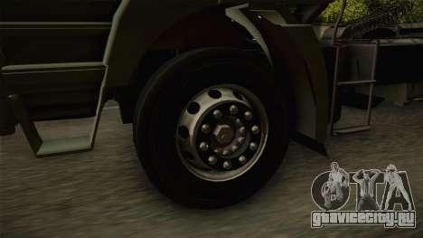Iveco Trakker Hi-Land 6x4 Cab Low v3.0 для GTA San Andreas вид сзади
