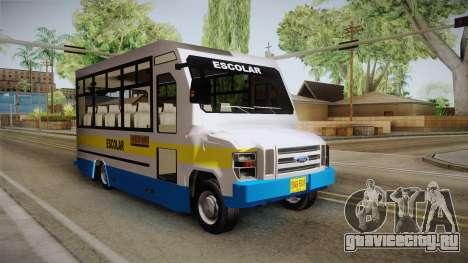 Ford Econoline 150 Microbus для GTA San Andreas вид справа