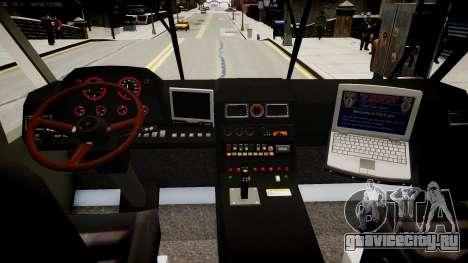 Camion Hydramax AERV v2.4-EX для GTA 4 вид изнутри
