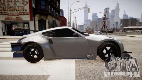Nissan 370Z Sport для GTA 4 вид слева