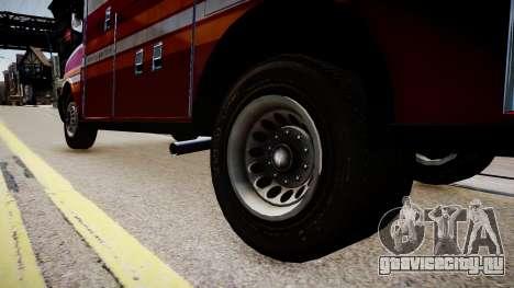 F.D.N.Y. Ambulance для GTA 4 вид сзади
