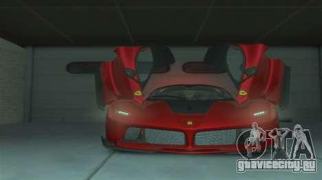 Ferrari FXX K [EPM] для GTA 4 вид сзади слева