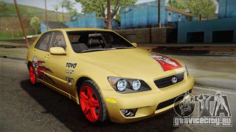 Lexus IS300 NFSMW05 PJ для GTA San Andreas