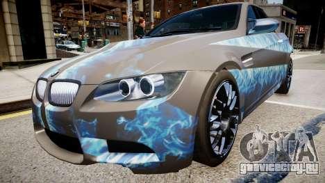 BMW M3 Pickup для GTA 4 вид сзади слева