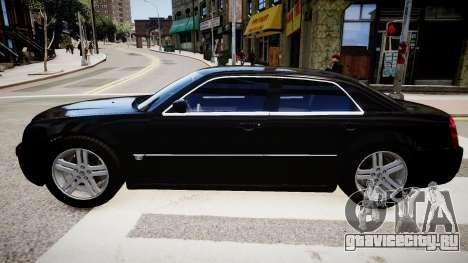 Chrysler 300C v1.3 для GTA 4 вид слева