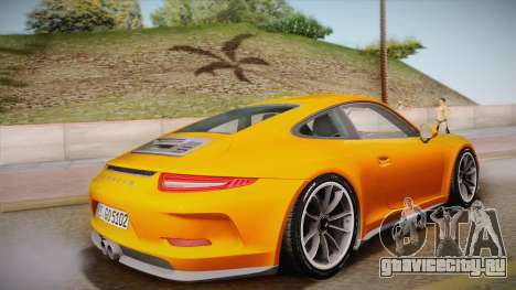Porsche 911 R (991) 2017 v1.0 для GTA San Andreas вид слева