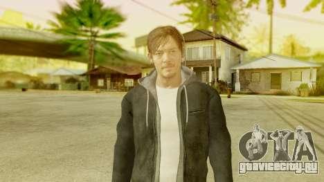 PS4 Norman Reedus для GTA San Andreas третий скриншот