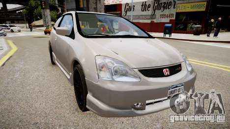 Honda Civic TypeR 2002 для GTA 4