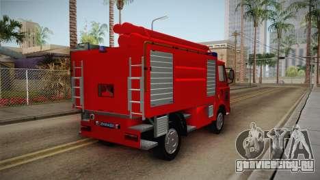 Zastava 640 Vatrogasci для GTA San Andreas вид справа