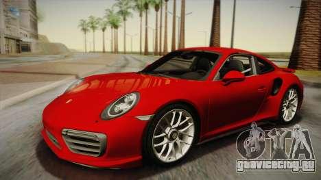 Porsche 911 Turbo S 2017 для GTA San Andreas