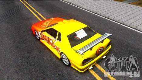 Elegy Paintjob DriftWorks для GTA San Andreas вид сзади
