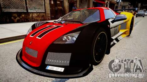 Gumpert Apollo Enraged Unleashed 2012 для GTA 4
