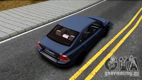 Volvo S60R для GTA San Andreas вид сзади