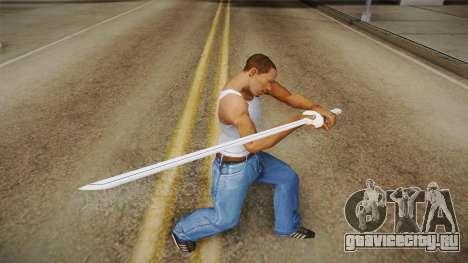 NUNS4 - Sasuke Boruto The Movie Sword для GTA San Andreas третий скриншот