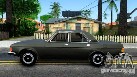 ГАЗ 3102 СССР для GTA San Andreas вид слева