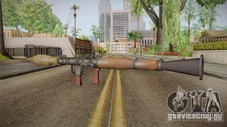 RPG-7 для GTA San Andreas третий скриншот