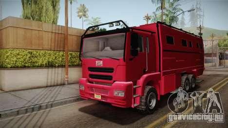 GTA 5 MTL Brickade для GTA San Andreas вид сзади слева