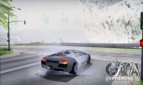 Lamborghini Murcielago LP650-4 Roadster (IVF) для GTA San Andreas вид сверху