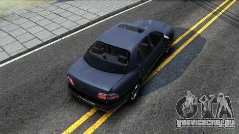 Opel Omega 1998 для GTA San Andreas вид сзади