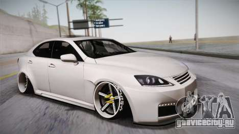 Lexus IS F 2009 Hachiraito для GTA San Andreas
