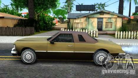 Idaho SA style для GTA San Andreas вид слева