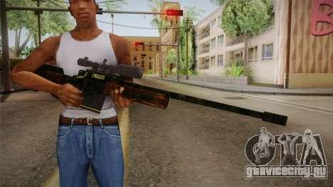 Sniper Estilo Ejercito Mexicano для GTA San Andreas третий скриншот