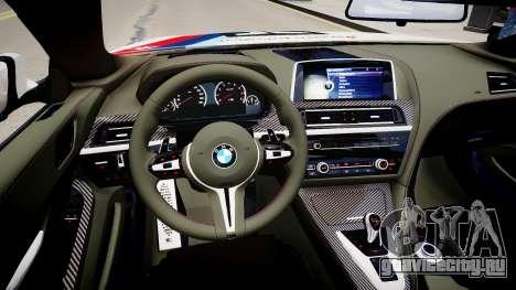 BMW M6 F13 2013 для GTA 4 вид изнутри