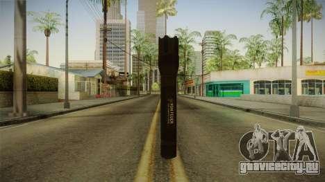 Halloween Surprise DLC - Vom Feuer Flashlight для GTA San Andreas второй скриншот