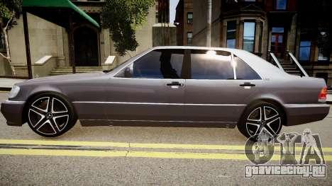 Mercedes-Benz S70 для GTA 4 вид слева