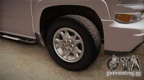 Chevrolet Suburban Z71 2003 для GTA San Andreas вид сзади