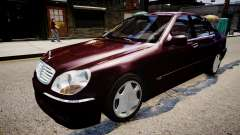 Mercedes-Benz S600 Special Edition для GTA 4