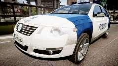 Finnish Police Volkswagen Passat (Poliisi) для GTA 4
