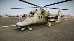 CoD Series - Mi-24D Hind Woodland
