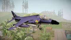 Sea Harrier White Tigers Squadron Indian Navy для GTA San Andreas