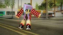 Minecraft Gamer Girl (Normal Maps) для GTA San Andreas