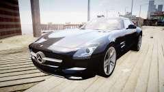 Mercedes-Benz SLS63 AMG для GTA 4