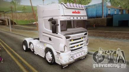 Scania R620 White Adabi для GTA San Andreas