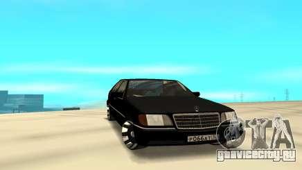 Mercedes-Benz 500SE W140 для GTA San Andreas