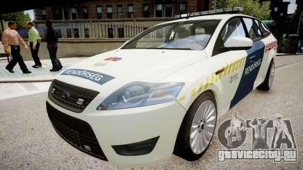 Hungarian Ford Police Car для GTA 4