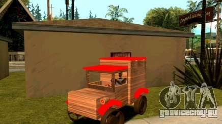 Wooden Toy Truck для GTA San Andreas