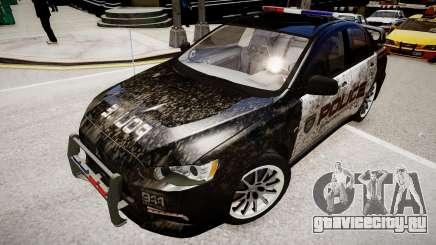 Mitsubishi Evo-IX Cop для GTA 4