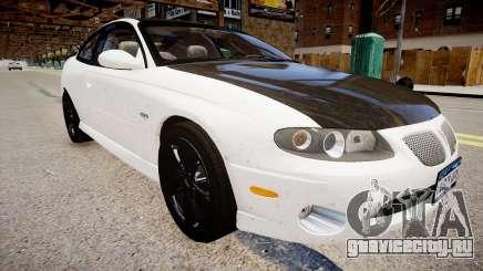 Pontiac GTO белый для GTA 4