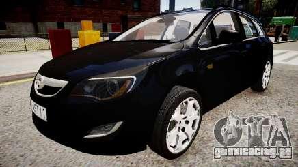 Opel Astra Sports Tourer 2011 для GTA 4