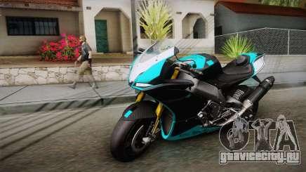 Aprilia RSV-4 Blue Edition для GTA San Andreas