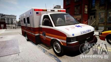 F.D.N.Y. Ambulance для GTA 4