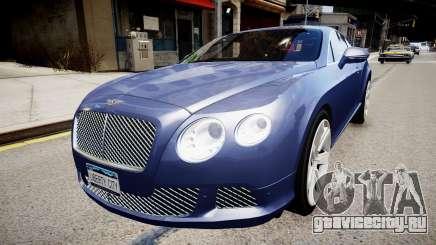 Bentley Continental GT 2011 [EPM] v1.0 для GTA 4