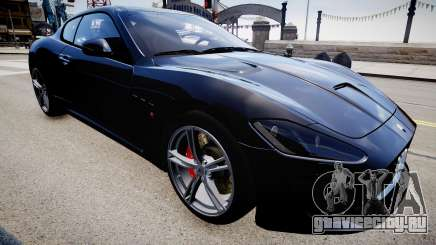 Maserati GranTurismo MC Stradale 2014 для GTA 4