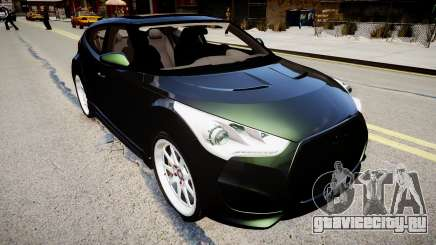 Hyundai Veloster Turbo 2012 vs 2.0 by Mauricio для GTA 4