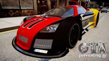 Gumpert Apollo Enraged Unleashed 2012 для GTA 4