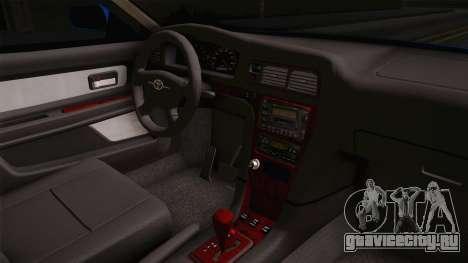 Toyota Chaser Tourer V для GTA San Andreas вид изнутри